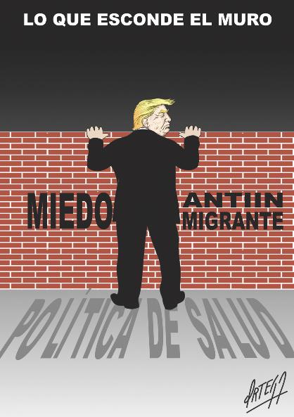 El humor en ediciones anteriores: Lo que esconde el muro