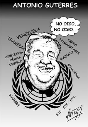 El humor en ediciones anteriores: Antonio Guterres