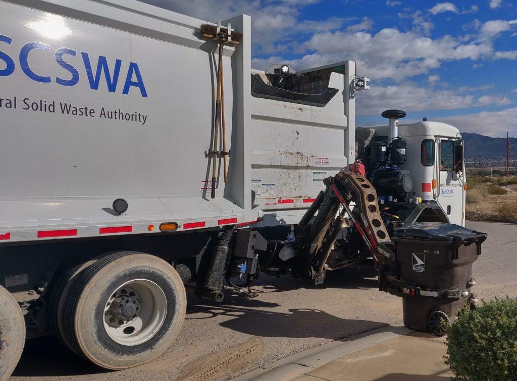 Conozca los servicios de basura de SCSWA