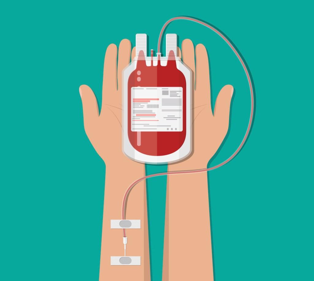 Campaña de donación de sangre en el condado