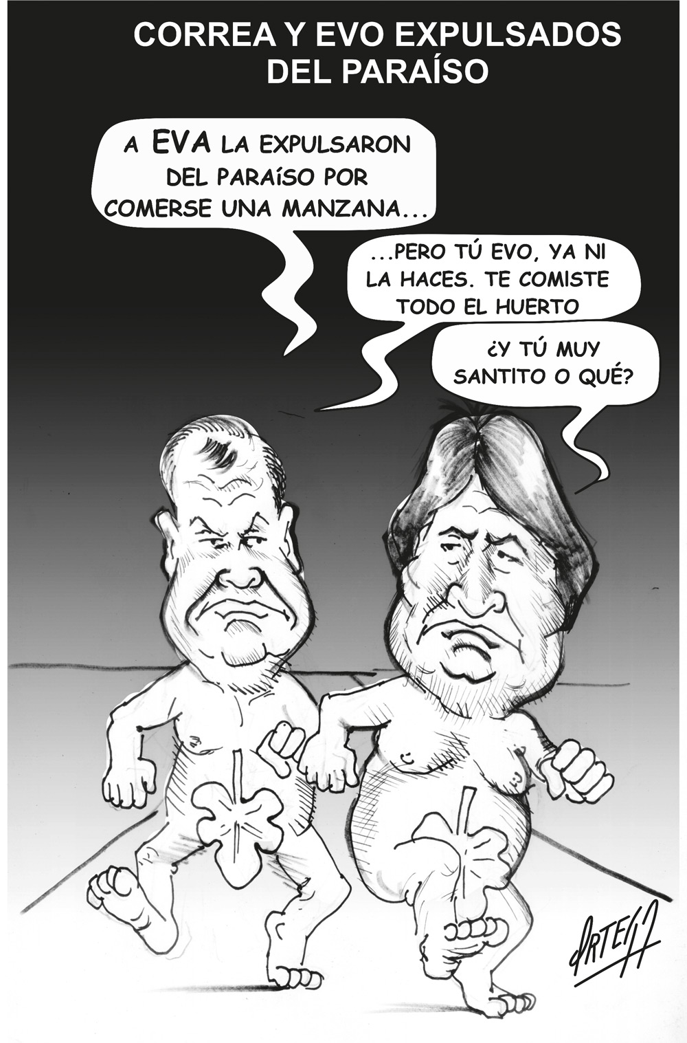No lloren por Evo Morales y Rafael Correa