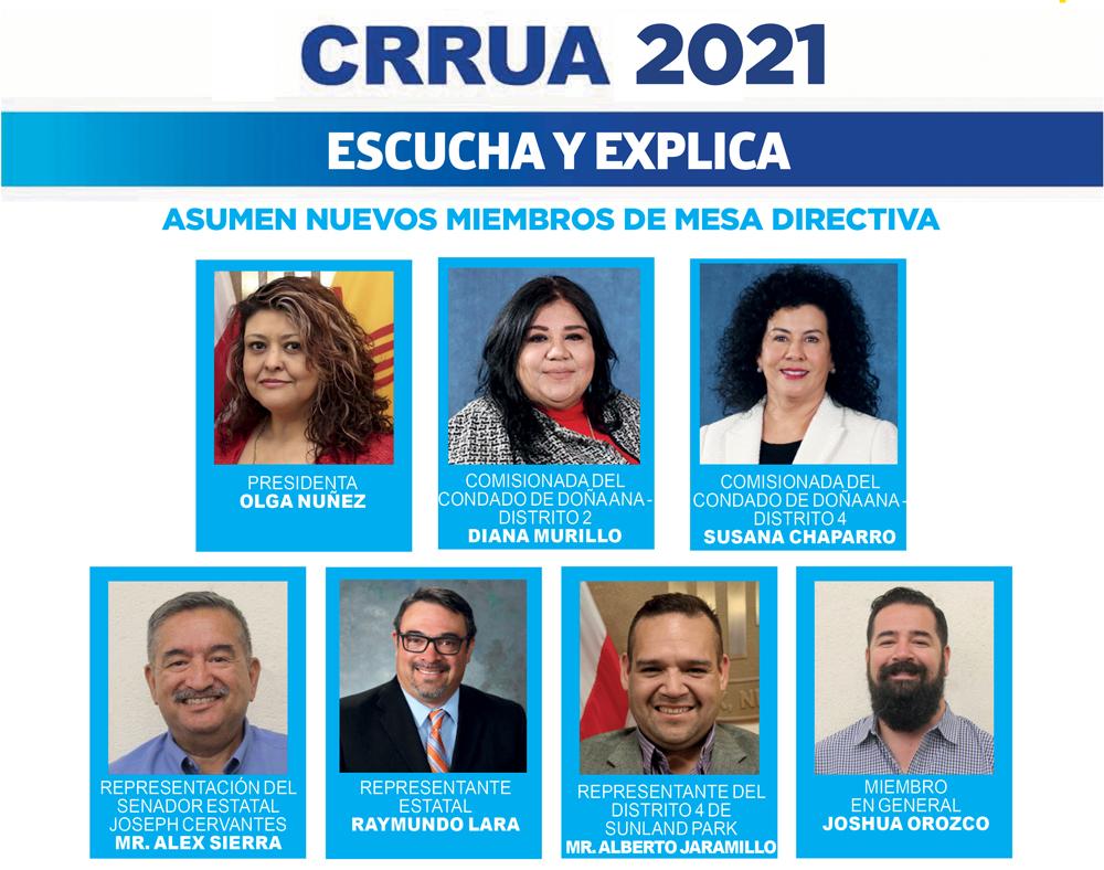 CRRUA 2021 – Asumen nuevos miembros de Mesa Directiva