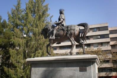Ciudad Real: Monumento a Juan II de Castilla en el Parque del Torreón