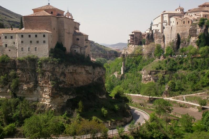 Cuenca: Convento de San Pablo y hoz del Huécar