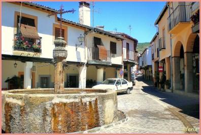 Fuente y calle de Guadalupe