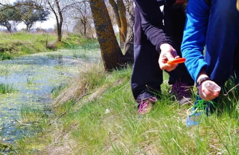 educación ambiental Cabañeros