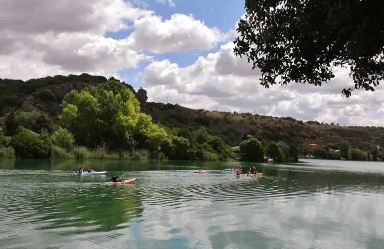 Paseo en Kayak Lagunas de Ruidera