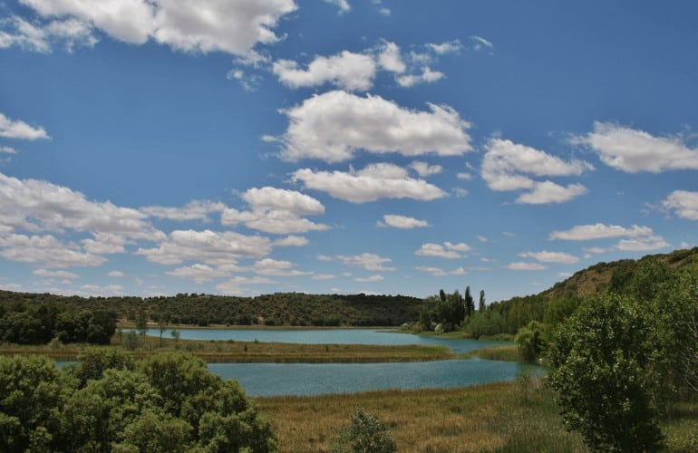 Laguna tinaja Lagunas de Ruidera