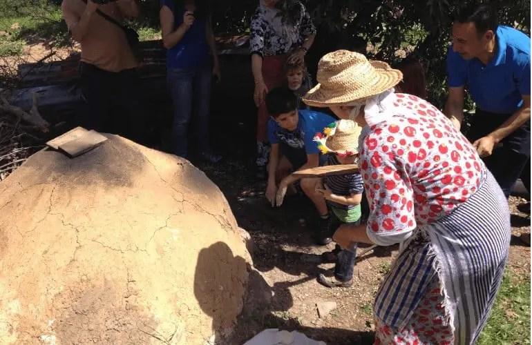Taller de pan en familia Marruecos