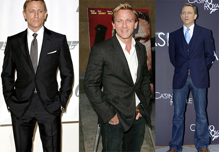 Daniel Craig es un hombre amante del estilo inglés en el vestir