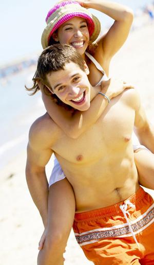 Elija el bañador que le resulte más cómodo y favorecedor