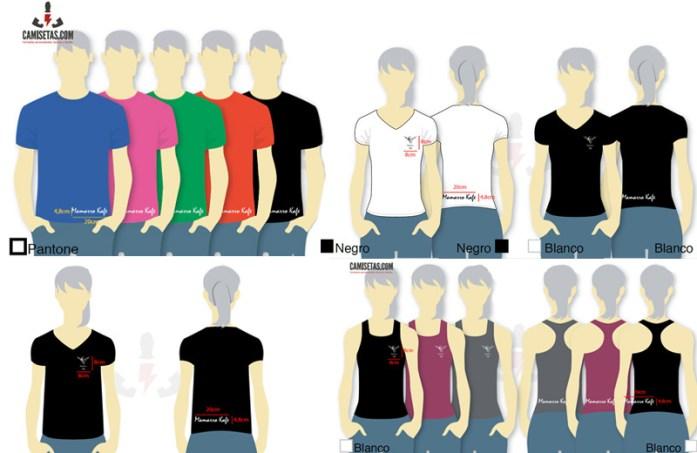 Camisetas para personalizar