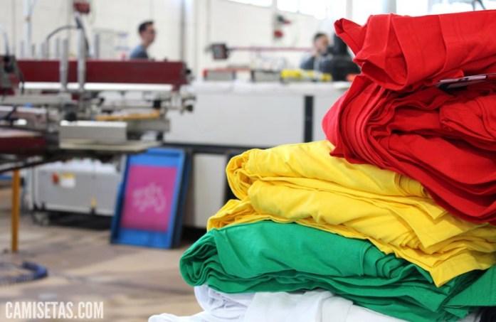 Proveedor de camisetas en serigrafía 1