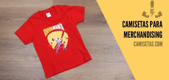 Camisetas para merchandising 70
