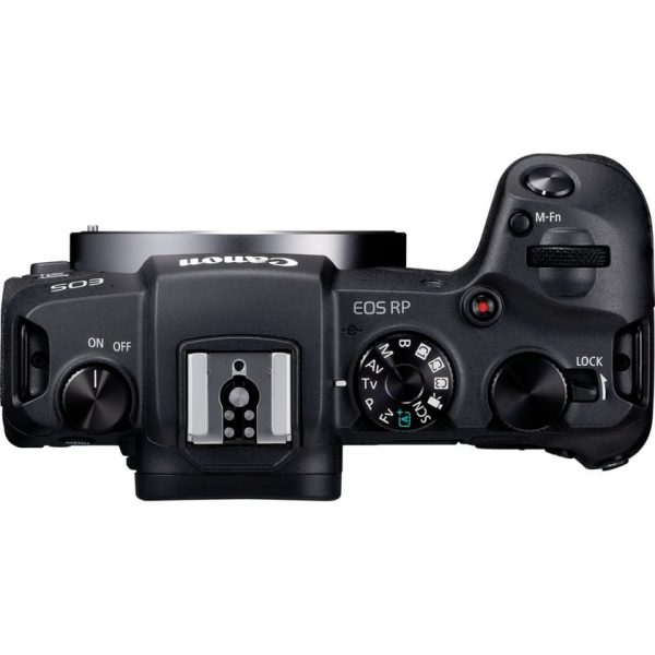 Canon EOS RP With RF 24-105 4-7.1 IS STM Lens