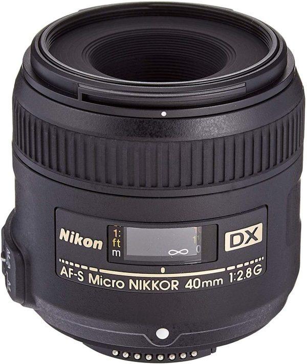Nikon AF-S 40mm Micro f2.8 DX G Lens