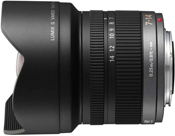 Panasonic Lumix G Vario 7-14mm f/4 ASPH Lens