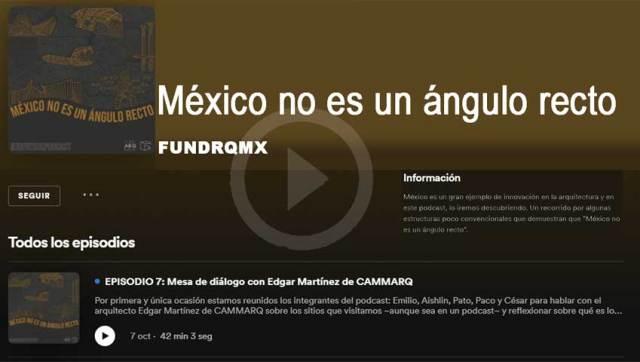 Podcast Fundarqmx
