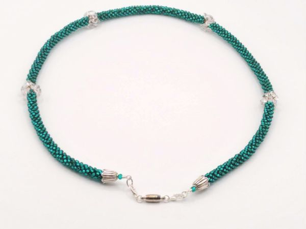 Kumihimo Necklace Magnetic Clasp for sale