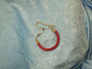 Red Bolo Anklet
