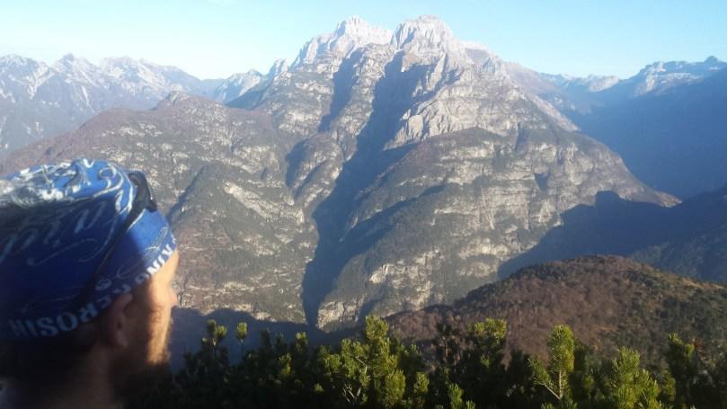 Cimone e Montasio dalla cima