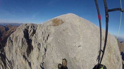 210 Il decollo erboso del Monte Peralba
