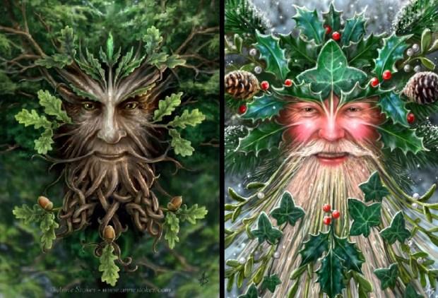 oak king holly king
