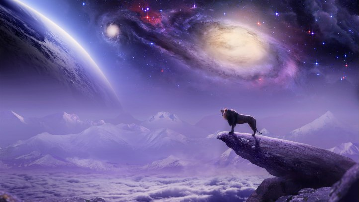 lion_on_a_background_galaxy_095746_
