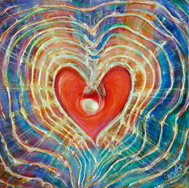 light-of-love-heart-spiritual-feng-shui-metaphysical-art-painting