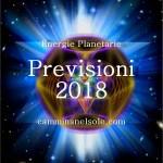 ENERGIE PLANETARIE -PREVISIONI PER l'ANNO 2018