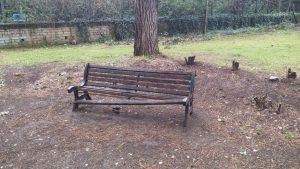 panchina del parco