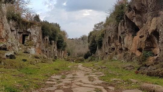 Via Amerina: da Assisi a Roma a piedi