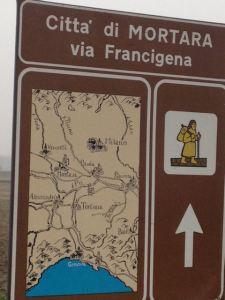 Mortara Via Francigena