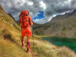 Lago Naturale Rifugio Barbellino Valbondione - Giro delle Orobie - Lombardia