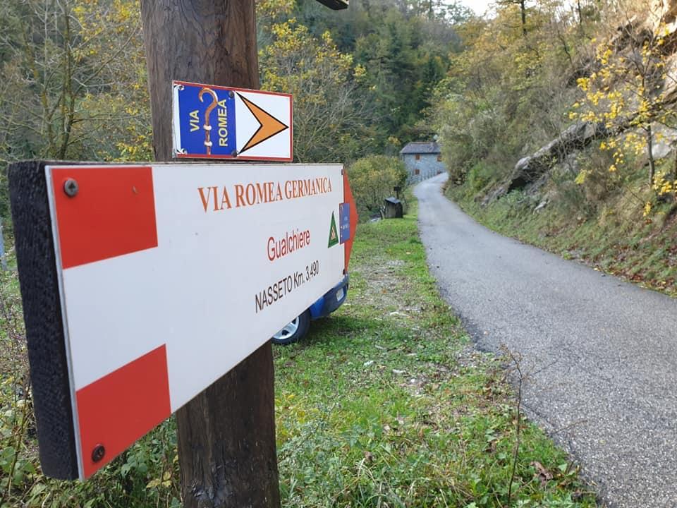Via Romea Itinerario d'Europa