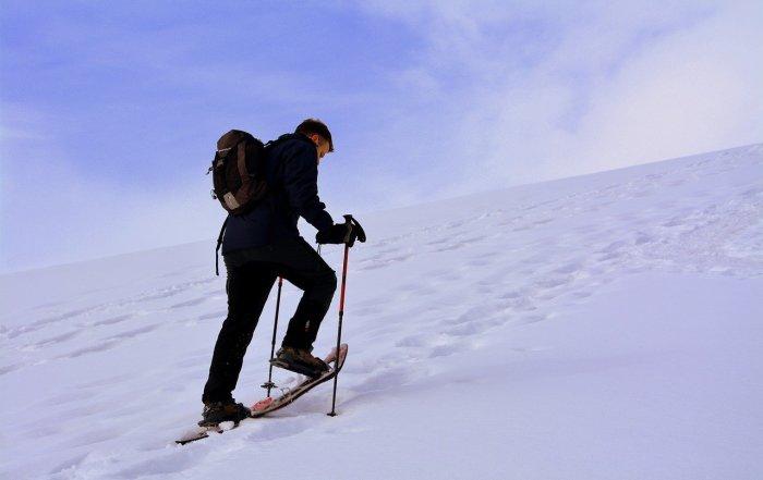 La prima volta sulla neve con le Ciaspole