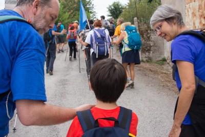Cammino Terre Mutate Tappa 1 Fabriano Matelica anche i bambini camminatori