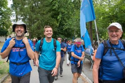 Cammino Terre Mutate Tappa 1 Fabriano Matelica giovani camminatori