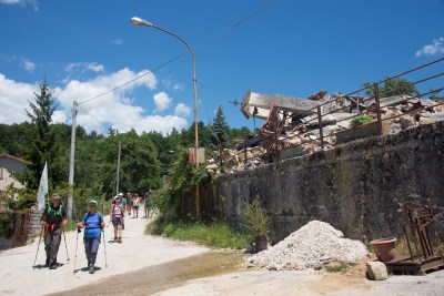 Cammino Terre Mutate Tappa 10 Accomoli - Amatrice (26)