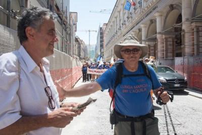 Cammino Terre Mutate Tappa 14 Collebrincioni - L'Aquila (132)