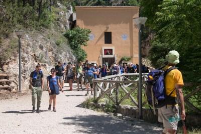 Cammino Terre Mutate Tappa 14 Collebrincioni - L'Aquila (40)