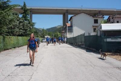 Cammino Terre Mutate Tappa 14 Collebrincioni - L'Aquila (45)