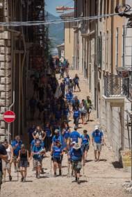 Cammino Terre Mutate Tappa 14 Collebrincioni - L'Aquila (72)
