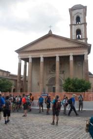 Cammino Terre Mutate Tappa 3 Camerino Fiastra Basilica di San Venanzio Camerino
