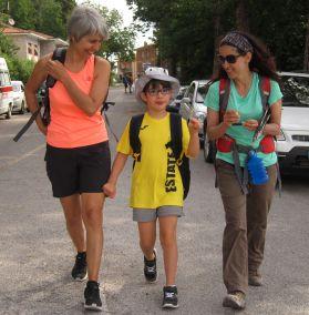 Cammino Terre Mutate Tappa 3 Camerino Fiastra bambini camminatori