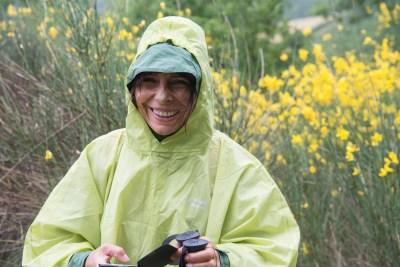 Cammino Terre Mutate Tappa 3 Camerino Fiastra pioggia e ginestre