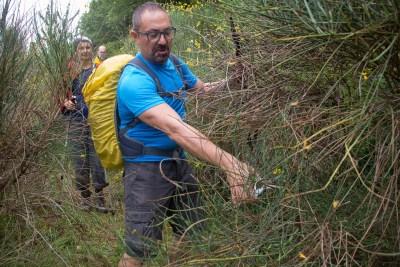 Cammino Terre Mutate Tappa 3 Camerino Fiastra pulizia sentieri