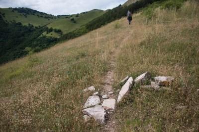 Cammino Terre Mutate Tappa 4 Fiastra Ussita sentieri