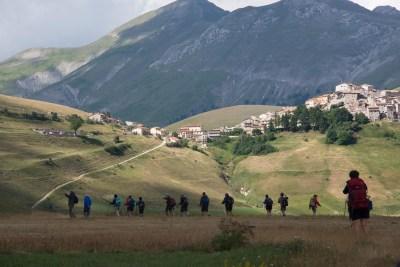 Cammino Terre Mutate Tappa 7 Norcia - Castelluccio di norcia (25)