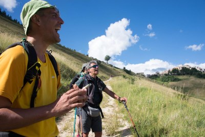 Cammino Terre Mutate Tappa 7 Norcia - Castelluccio di norcia (37)